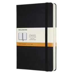 Moleskine Moleskine Classic Expanded Large Hardcover Notebook Black Ruled