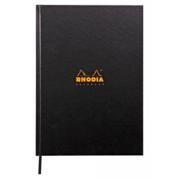 Rhodia Rhodia Rhodiactive Hardcover Notebook (A4) Black Lined