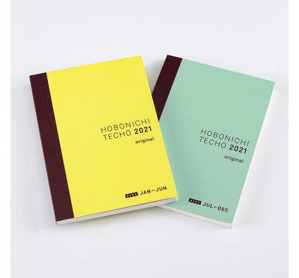 Hobonichi Hobonichi 2021 A6 Techo Original Avec Books Only Set