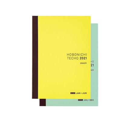 Hobonichi Hobonichi 2021 A5 Cousin Avec Books Only