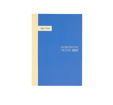 Hobonichi Hobonichi 2021 Cousin A5 Day-Free Cousin Book Only