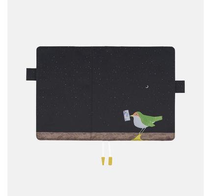 Hobonichi Hobonichi A5 Cousin 2021 Agenda Makoto Wada: Time-Traveling Bird