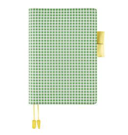 Hobonichi Hobonichi A5 Cousin 2021 Agenda Apple Green Gingham