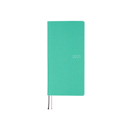 Hobonichi Hobonichi Weeks 2021 Agenda Colors: Mint