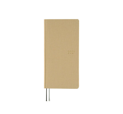 Hobonichi Hobonichi Weeks 2021 Agenda Colors: Latte Beige (Spring Start)