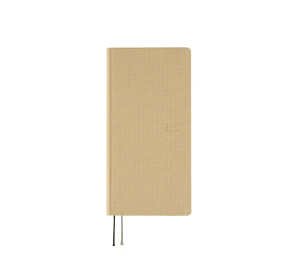 Hobonichi Weeks Mega 2021 Agenda Colors: Latte Beige