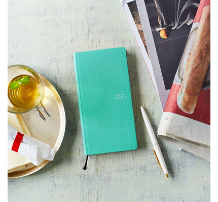 Hobonichi Weeks Mega 2021 Agenda Colors: Mint