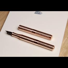 Schon DSGN Schon DSGN Pocket Six Faceted Copper Fountain Pen