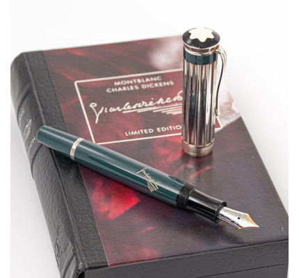 Montblanc Pre-Owned Montblanc Writer's Series Charles Dickens Fountain Pen 2001