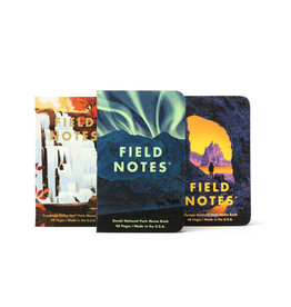 Field Notes Field Notes National Parks Series E  Denali, Cuyahoga, Olympic