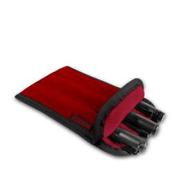 Rickshaw 3-Pen Coozy Red Pen Sleeve
