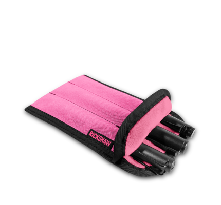 Rickshaw 3-Pen Coozy Bright Pink Pen Sleeve