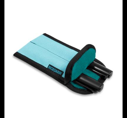 Rickshaw 2-Pen Coozy Spa Blue Pen Sleeve