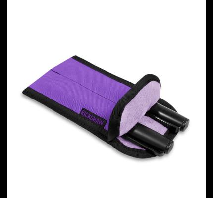 Rickshaw 2-Pen Coozy Violet Pen Sleeve Long