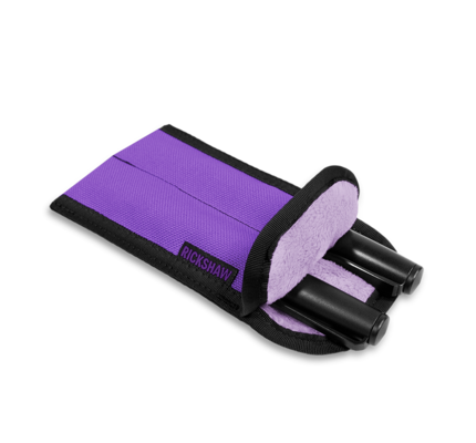 Rickshaw 2-Pen Coozy Violet Pen Sleeve