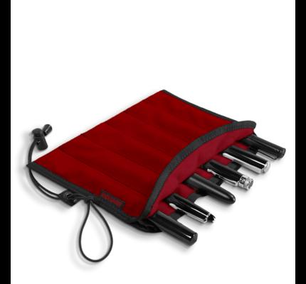 Rickshaw 6-Pen Red Pen Roll