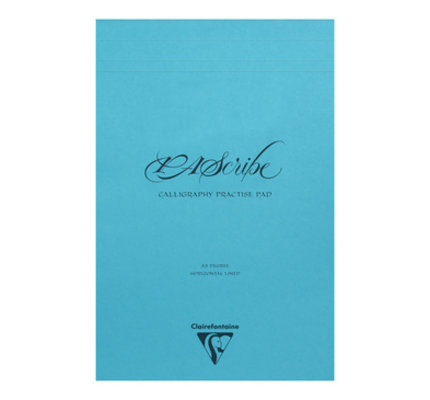 Rhodia Clairefontaine PAScribe #19 Top Staplebound Calligraphy Pad with White Paper