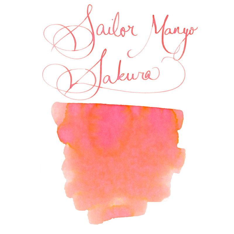 Sailor Sailor Manyo Sakura 50ml Bottled Ink