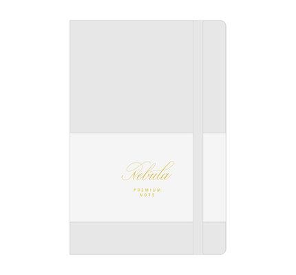 Colorverse Colorverse Nebula A5  Snow White Premium Notebook Plain