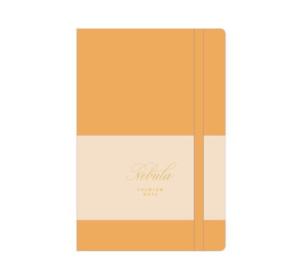 Colorverse Colorverse Nebula A5 Cozy Yellow Premium Notebook Ruled