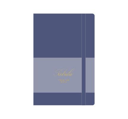 Colorverse Colorverse Nebula A5 Lavender Blue Premium Notebook Ruled