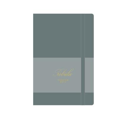Colorverse Colorverse Nebula A5 Tea Grey Premium Notebook Ruled