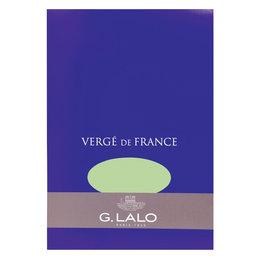 G. Lalo Verge de France Pistachio Writing Pad (50 Sheets)