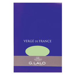 G. Lalo Verge de France Pistachio Writing Pads (50 Sheets)