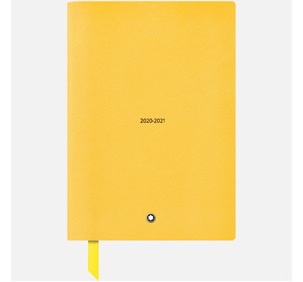 Montblanc Montblanc 2020-2021 18 Month Mustard #146 Weekly Diary