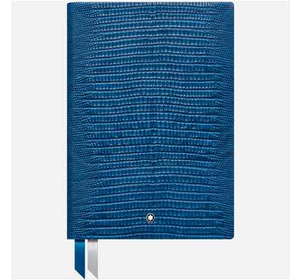Montblanc Montblanc Lizard Print Federal Blue #146 Notebook Lined
