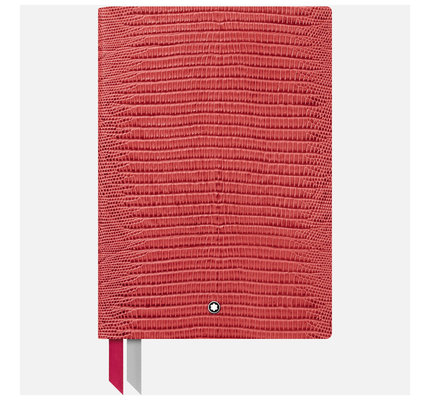 Montblanc Montblanc Lizard Print Cardinal Red #146 Notebook Lined