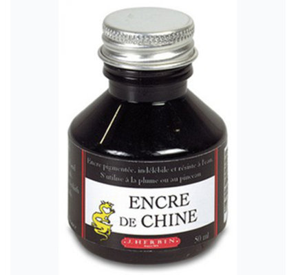 J. Herbin J. Herbin India Ink Black 50ml Bottled Ink