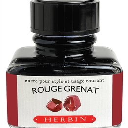 J. Herbin J. Herbin Rouge Grenat 30ml Ink Bottle