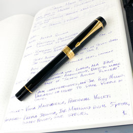 Parker Pre-Owned Parker Duofold Centennial Black Fountain Pen Medium