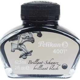 Pelikan Pelikan 4001 Brilliant Black 30ml  Bottled Ink