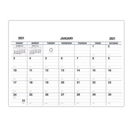 Payne 2021 Refill for VP-811 and VPM-811 Imprinted Vinyl Calendar Pads