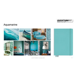 Leuchtturm1917 Leuchtturm1917 A5 Medium Rising Colors Softcover Notebook Aquamarine Dotted