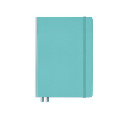 Leuchtturm1917 Leuchtturm1917 A5 Medium Rising Colors Softcover Notebook Aquamarine Plain