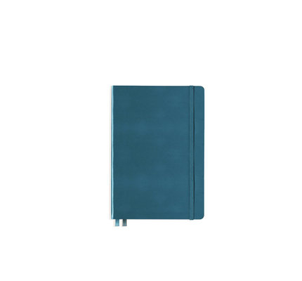Leuchtturm1917 Leuchtturm1917 A5 Medium Rising Colors Softcover Notebook Stone Blue Plain
