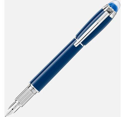 Montblanc Montblanc StarWalker Blue Planet Precious Resin Fountain Pen Fine