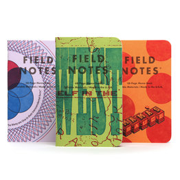 Field Notes Field Notes Limited Edition United States of Letterpress 2020 Pack A
