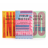 Field Notes Field Notes Limited Edition United States of Letterpress 2020 Pack B