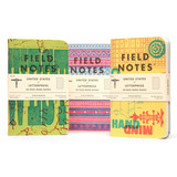 Field Notes Field Notes Limited Edition United States of Letterpress 2020 Pack C