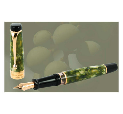 Aurora Aurora Limited Edition Optima Oliva Fountain Pen Extra-Fine (Retired)