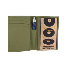 Retro 51 Retro 1951 Traveler Bamboo Green Wallet