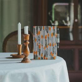Hobonichi Hobonichi A5 Cousin 2021 Agenda mina perhonen: candle