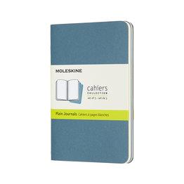 Moleskine Moleskine Cahier Collection Pocket Softcover Journal Brisk Blue