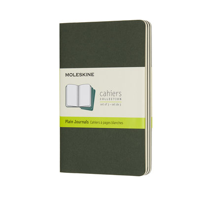 Moleskine Moleskine Cahier Collection Pocket Softcover Journal Myrtle Green