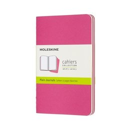 Moleskine Moleskine Cahier Collection Pocket Softcover Journal Kinetic Pink