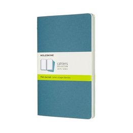 Moleskine Moleskine Cahier Collection Large Softcover Journal Brisk Blue